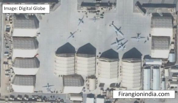 Kandahar Drone Apron (via Digital Globe)